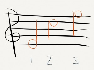 FiftyThree Paper music lessons example 1